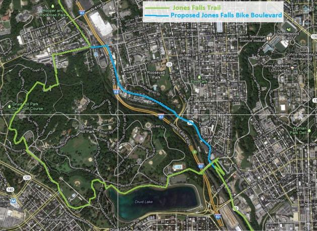 Baltimore trails