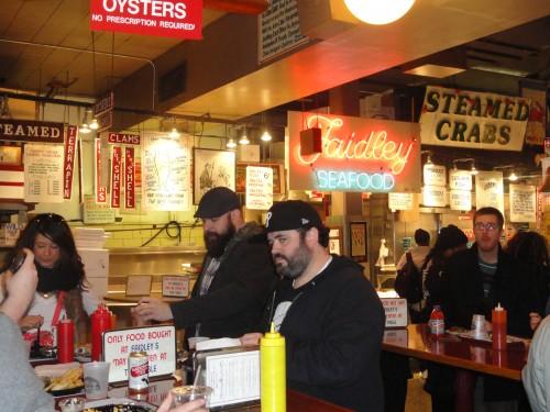 Faidleys Seafood at Lexington Market