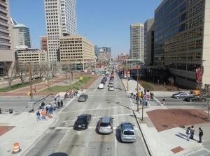 Pratt Street-Baltimore's unofficial main street