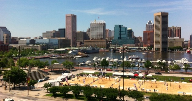 Baltimore Beach Volleyball poised to be asked to leave this location