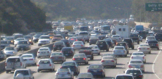 Many employers give us no commuting choices.     Photo by biofriendly,  Licensed under Creative Commons Attribute 2.0 Generic
