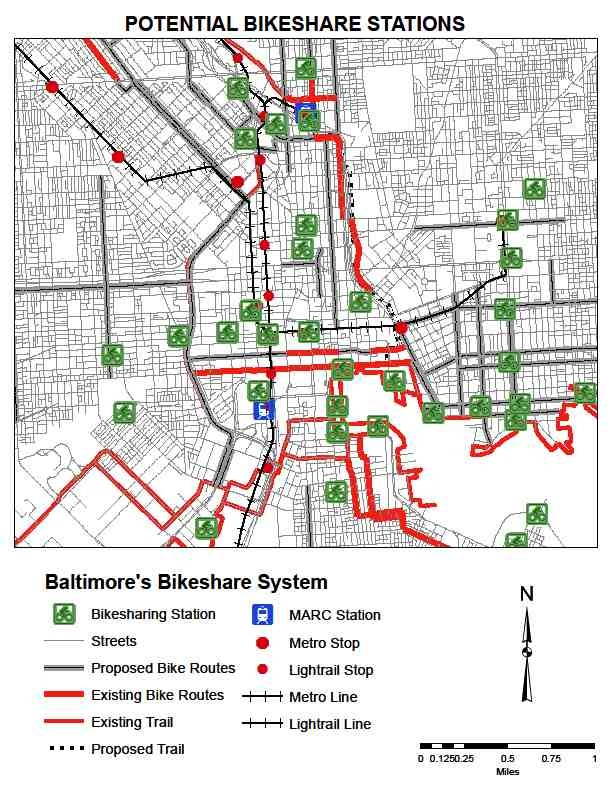 The Historic Beginning of Baltimore's Downtown Bicycle Network (4/4)