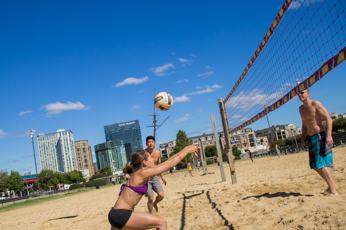 Quicksand  for Baltimore Beach Volleyball at Rash Field (1/2)