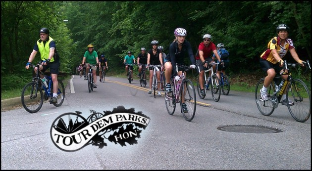 TDP is great chance to tour Baltimore on your bike-Image from Tour Dem parks website
