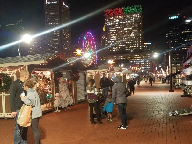 Christmas promenade